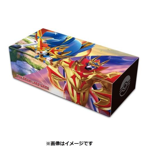 ポケモンカードゲーム ロングカードボックス ザシアン・ザマゼンタ