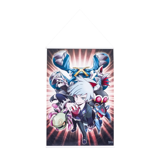 Pokemon Center Original TC OA Champion Daigo B2 Tapestry Art Poster Anime 62C