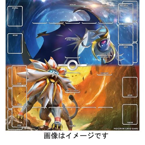 ポケモンカードゲーム 丈夫なプレイマット ソルガレオ・ルナアーラ  ポケモンセンターオンライン