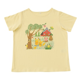 ドレープTシャツ Pokemon little tales (Ladies)