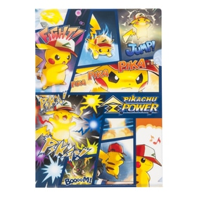 A4クリアファイル PIKACHU Z POWER