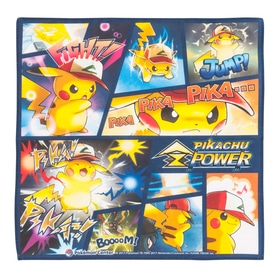 ハンカチ PIKACHU Z POWER