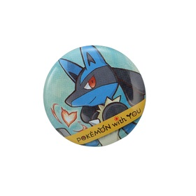 LUCARIO with YOU 缶バッジ 2018