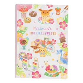 BOOK型ケース入りメモ Pokémon's TROPICAL SWEETS