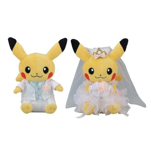 ぬいぐるみ ペアピカチュウ Precious Wedding ポケモンセンターオンライン