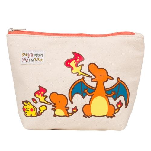 ポーチ Pokémon Yurutto ヒトカゲ ポケモンセンターオンライン
