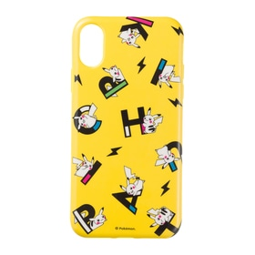 ソフトジャケット for iPhone Xs/X PIKAPIKACHU