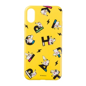 ソフトジャケット for iPhone XR PIKAPIKACHU