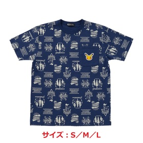 Tシャツ Pikachu drawing 総柄 S/M/L