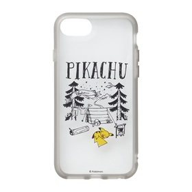 IIIIfi+®(clear) for iPhone SE(第2世代)/8/7/6s/6 Pikachu drawing