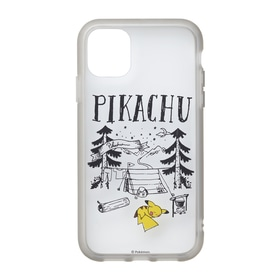 IIIIfi+®(clear) for iPhone 11/XR Pikachu drawing