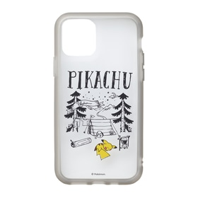 IIIIfi+®(clear) for iPhone 11Pro Pikachu drawing