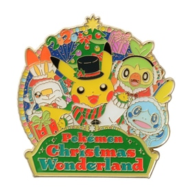 ロゴピンズ Pokémon Christmas Wonderland