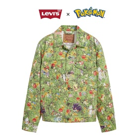 VINTAGE FIT TRUCKER POKEMON GARDEN TRUCKER