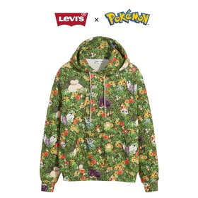 POKEMON UNISEX HOODIE POKEMONGARDEN DIGITAL P